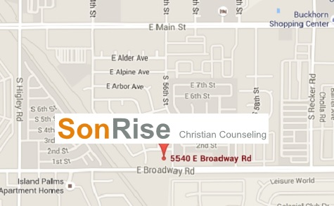 1 2 Mile East Of Higley On The Northwest Corner Of 56th Street Broadway Road Phone 480 830 8299 Fax 480 830 1820 E Mail Careatsonrisecounseling Com